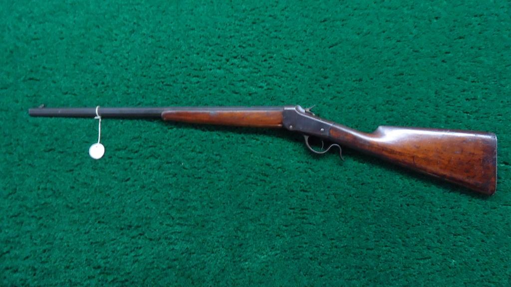 W1073 Winchester 1885 Lo Wall 22 Caliber Single Shot Rifle